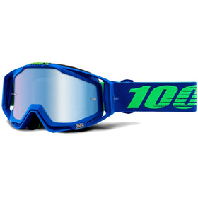 100% Racecraft Anti Fog Mirror goggles blauw